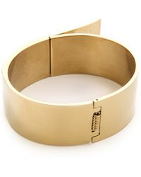 By Malene Birger - Harpa Bracelet - Gold - Lyst