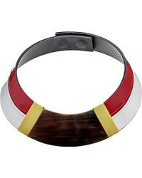 Marni Horn Collar Necklace - For Women - Lyst