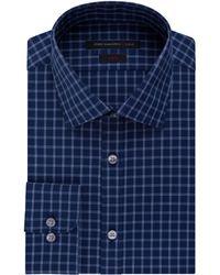 John Varvatos Slim Fit Check Dress Shirt - Lyst