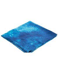 Sylvan - Diamond Fade Print Silk Scarf - Lyst