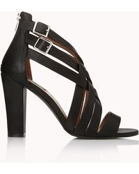 Forever 21 - Posh Play Strappy Sandals - Lyst