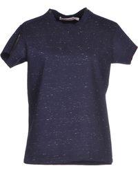 See By Chloé T-Shirt blue - Lyst