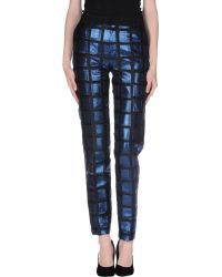 Kenzo Casual Trouser blue - Lyst