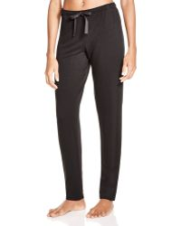 Natori - Tapered Lounge Trousers - Lyst