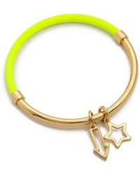 Marc By Marc Jacobs Shoot Star Hula Hoop Bangle Bracelet Safety Yellow