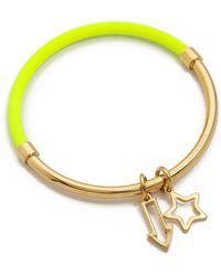 Marc By Marc Jacobs Shoot Star Hula Hoop Bangle Bracelet  - Lyst