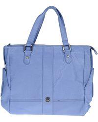 Gianfranco Ferré Large Leather Bag - Lyst