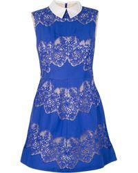 Lover Chelsea Mini Dress - Lyst