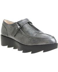 William Rast - Dee Leather Platform Oxfords - Lyst