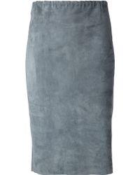 Stouls 'Gilda' Pencil Skirt - Lyst