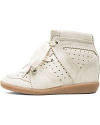 Isabel Marant Bobby Sneaker - Lyst