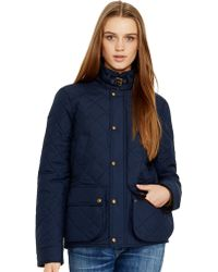 Polo Ralph Lauren Diamond Quilted Jacket - Lyst