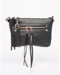 ASOS | Zip Pocket Cross Body Bag | Lyst