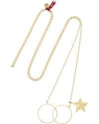 Inez & Vinoodh - 18-Karat Gold Necklace - Lyst