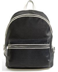 Elizabeth And James 'Cynnie' Perforated Leather Backpack - Lyst
