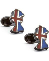 English Laundry - Her Royal Majesty Cufflinks - Lyst