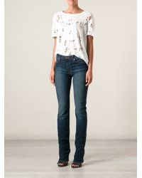Hudson Siouxsieelle Midrise Bootcut Jeans - Lyst
