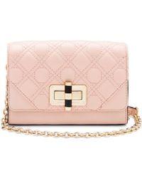 Diane von Furstenberg 440 Gallery Micro Mini Quilted Leather Crossbody Bag - Lyst