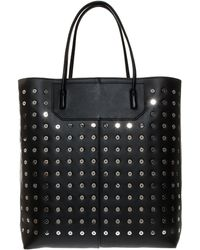 Alexander Wang Prisma Studded Tote - Lyst