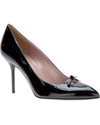Gucci Pointed Toe Pump - Lyst