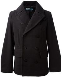 Ralph Lauren Blue Label Pea Coat - Lyst