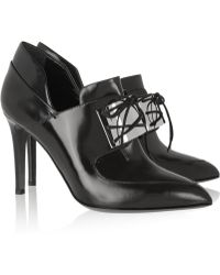Jason Wu Embellished Leather Ankle Boots - Lyst