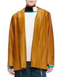 Derek Lam Calf Hair Barn Jacket - Lyst