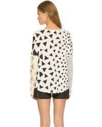 Sass & Bide - Free Money Top - Ivory - Lyst