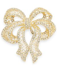 R.j. Graziano - Pave Bow Pin - Lyst