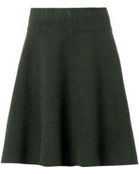 Acne Studios Dancer Boiled-wool Skirt - Lyst