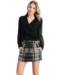 Karen Zambos - Plaid Smith Skirt - Lyst