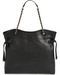 Tory Burch 'Marion' Slouchy Tote - Lyst