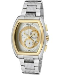 Kenneth Cole - Mens Chronograph Silver Dial Stainless Steel Kennethc Watch - Lyst