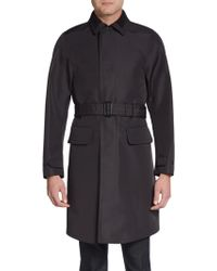 Burberry Prorsum Virgin Wool-blend Trenchcoat - Lyst