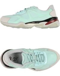 Alexander McQueen x Puma | Leather and Neoprene Low-Top Sneakers | Lyst
