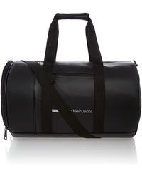 Calvin Klein Black Duffle Bag - Lyst