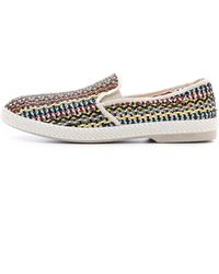 Rivieras Lord Zelco Slip Ons - Lyst