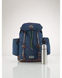 Ralph Lauren Nylon Utility Backpack - Lyst