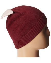 Kate Spade Colorblock Beanie - Lyst