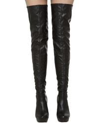 Lust For Life - L-drama Thigh High Platform Heeled Boots - Lyst