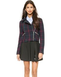 Elizabeth And James Patti Jacket  Wine - Lyst