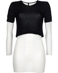 Gareth Pugh Short Dress white - Lyst