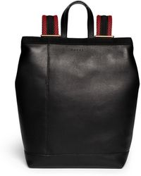 Marni 'Parachute' Large Leather Backpack - Lyst