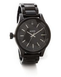 Nixon Facet Watch - Black - Lyst