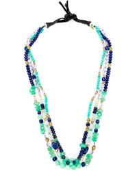 Royal Nomad Jewelry - Mixed Stone Beaded Necklace - Lyst