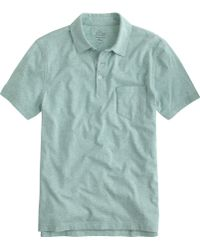 J.Crew Tall Broken-In Pocket Polo Shirt - Lyst