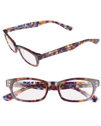 Corinne Mccormack - 'cindy' 48mm Reading Glasses - Lilac/ Multi - Lyst