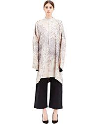 Swati Kalsi - Veste Kimono Longue Brodée - Lyst