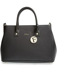 Furla 'Linda - Small' Leather Tote - Lyst