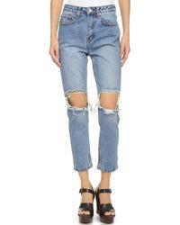 UNIF - Cited Jeans - Med Blue - Lyst